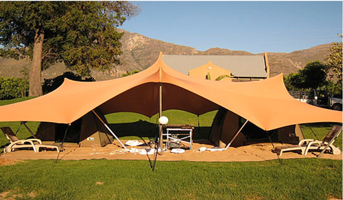 Decorated With Beautiful Indonesian Interior Elements You Can Enjoy The Nice Flair Of Gling In These Luxury Tents