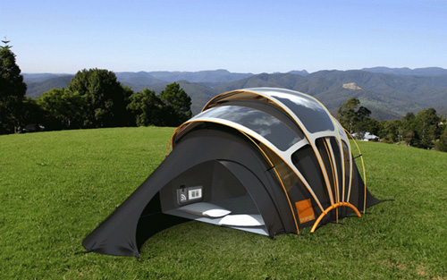 In the world of luxury c&ing itu0027s hard to classify different categories of tents due to the high level of customization but solar-powered tents are in a ... & Types of Camping Tents Part 4: Luxury Tents